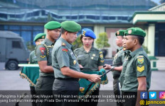 Tiga Prajurit Penangkap Prada DP Pemutilasi Sang Pacar Dapat Penghargaan dari Pangdam - JPNN.com
