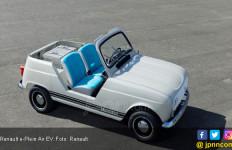 Hatchback Retro Bertenaga Listrik Besutan Renault - JPNN.com