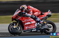 Dovizioso Kalahkan Marquez di FP1 MotoGP Ceko - JPNN.com