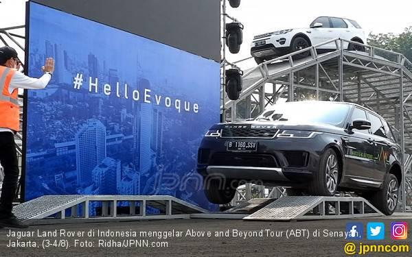 WAE Buka Kesempatan Menyiksa 5 Model Land Rover di Senayan - JPNN.com