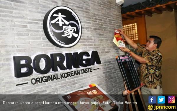 Restoran Korea Menunggak Bayar Pajak Hingga Rp 50 Juta - JPNN.com