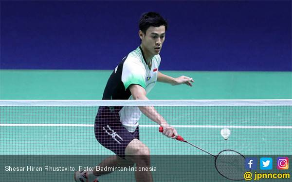 Vito Kandas, Wakil Indonesia Tandas di Thailand Open 2019 - JPNN.com