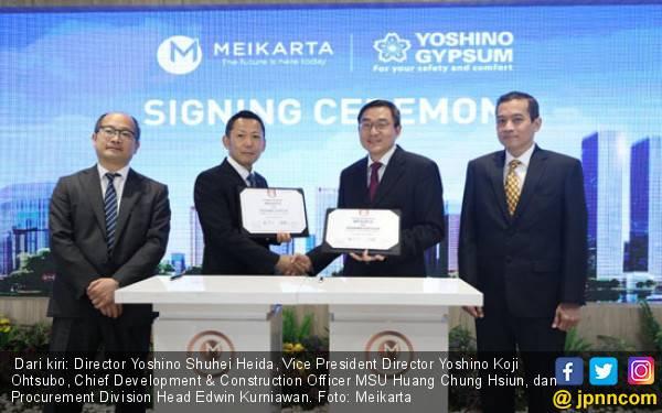 Apartemen Meikarta Gunakan Gipsum Berkualitas Jempolan dari Jepang - JPNN.com