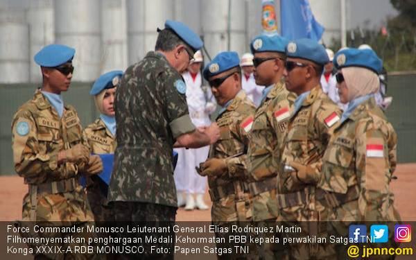 850 Prajurit TNI Dapat Medali Kehormatan PBB - JPNN.com