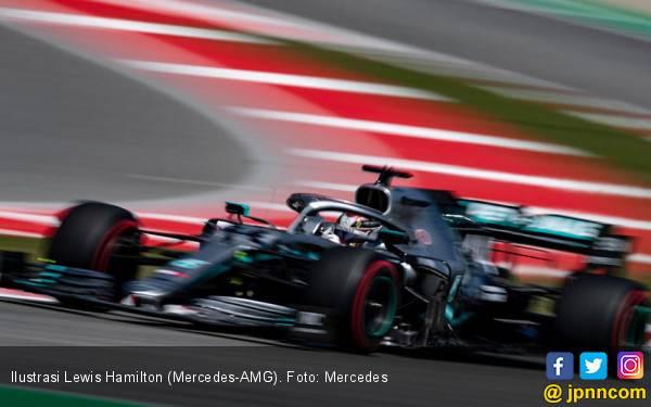 Hasil FP F1 Amerika Serikat: Hamilton Tercepat, Tak Ada Tim yang Dominan - JPNN.com