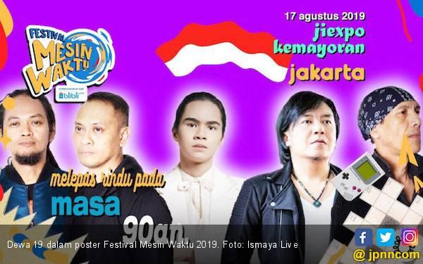 Selain Konser, Festival Mesin Waktu 2019 Juga Gelar Lomba 17-an - JPNN.com