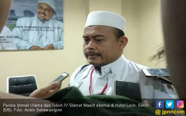 Pemulangan Habib Rizieq Harga Mati, PA 212 Ogah Rekonsiliasi dengan Jokowi - JPNN.com