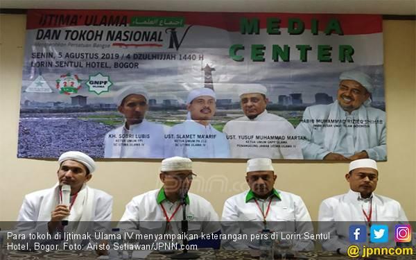 Ijtimak Ulama IV: Habib Rizieq Sebut Umat Islam Menang di Pilpres 2019 - JPNN.com