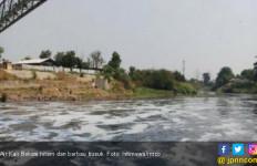 Diduga Tercemar Limbah, Kali Bekasi Hitam dan Berbau Busuk - JPNN.com