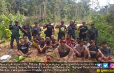 KLHK, TNI dan Polda Tangkap 17 Pelaku Pembalakan Liar di Sambas - JPNN.com