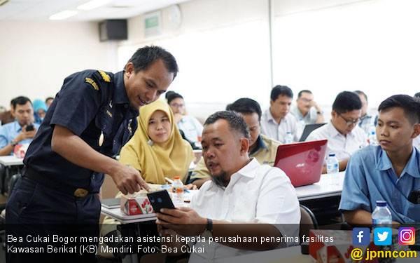 Bea Cukai Bogor Adakan Asistensi Bagi Perusahaan Penerima Fasilitas KB Mandiri - JPNN.com