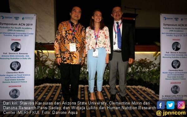 Danone Aqua All Out Dukung Asian Congress of Nutrition 2019 - JPNN.com