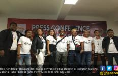 Edo Kondologit dan Nowela Suarakan 'Papua Bangkit' - JPNN.com