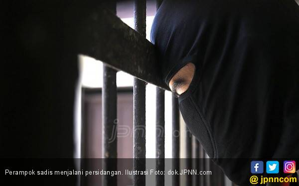 Dengar Jawaban Perampok Sadis, Pak Hakim Geleng-geleng Kepala - JPNN.com