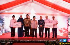 Bantu Rehabilitasi Lombok, Samsung Indonesia Donasikan Unit Ambulans - JPNN.com