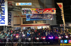 Suzuki Saturday Night Ride Menggerlap Kota Banjarmasin - JPNN.com