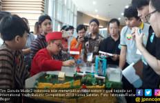 Robot Kreatif Tim Garuda Muda 2 Indonesia Menang di Ajang Internasional - JPNN.com