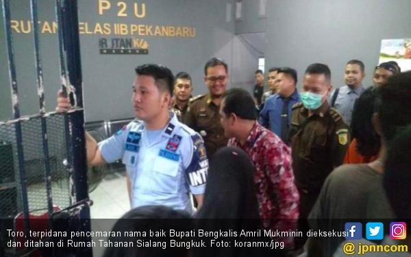 Terpidana Pencemaran Nama Baik Bupati Bengkalis Ditangkap - JPNN.com