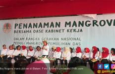 Ke Batam Bareng Bu Mufidah, Iriana Jokowi: Kami Bukan Mau Belanja - JPNN.com