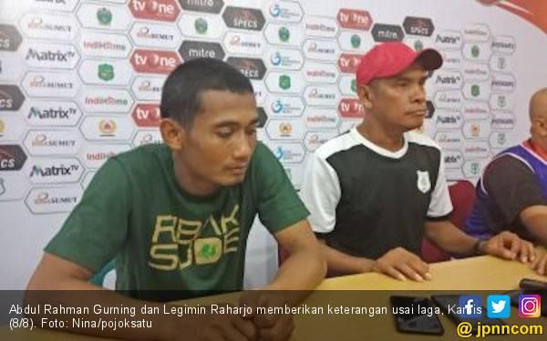 Komentar Pelatih PSMS Usai Sidang Komdis PSSI Soal Wasit Diancam Pistol - JPNN.com
