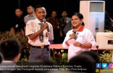 Cara Unik Ibu Iriana Jokowi Sosialisasikan Bahaya Narkoba ke Pelajar - JPNN.com