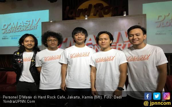 16 Tahun Berkarya, D'Masiv Gelar Konser Tunggal Perdana - JPNN.com