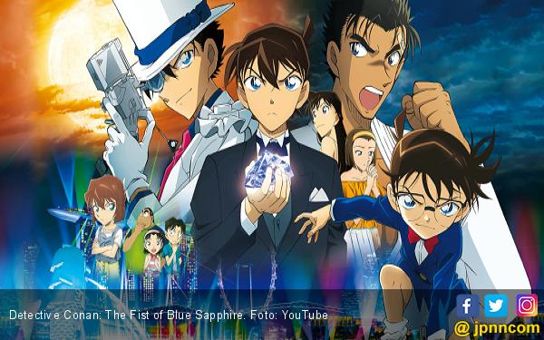 The Fist of Blue Sapphire, Aksi Detective Conan di Singapura - JPNN.com