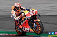 Dovizioso Jatuh, Meluncur, Tercampak, Marquez Pimpin FP2 MotoGP Austria - JPNN.com