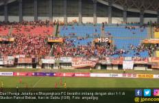 Persija 1 vs 1Bhayangkara FC: Macan Kemayoran Tetap Terpuruk di Papan Bawah - JPNN.com