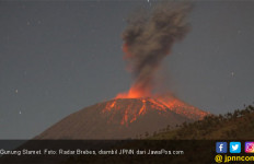 Waspada, Menjauhlah dari Gunung Slamet - JPNN.com