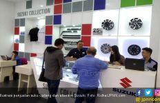 Berkat Ini Penjualan Suku Cadang Suzuki Naik Signifikan - JPNN.com