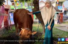 Ucie Sucita Enggak Tega Lihat Hewan Kurban Disembelih - JPNN.com