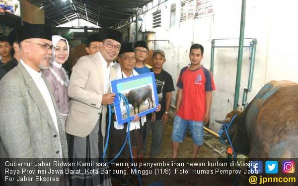 Jumlah Masyarakat yang Berkurban di Jawa Barat Terus Meningkat - JPNN.com