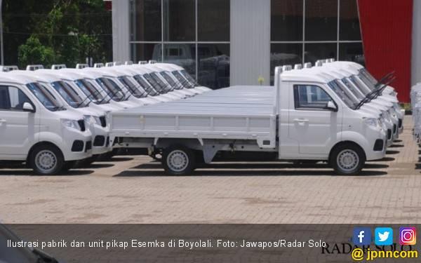 Terjun ke Pasar Kendaraan Komersial, Esemka Klaim Tanpa Dukungan Tiongkok - JPNN.com