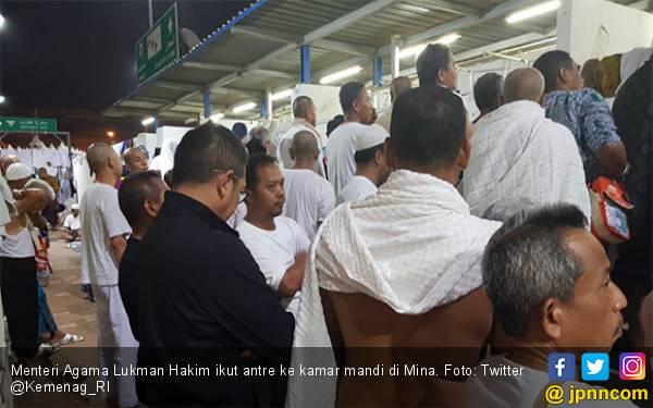 Menteri Agama pun Harus Antre 25 Menit Masuk Kamar Mandi - JPNN.com