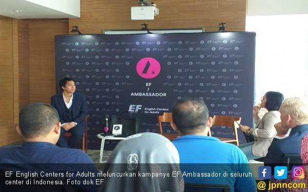 EF English Centers for Adults Luncurkan Kampanye EF Ambassador - JPNN.com