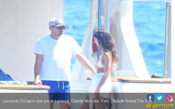 Wew, Leonardo DiCaprio Gandeng Pacar Baru Lagi, Beda Usia 22 Tahun - JPNN.com