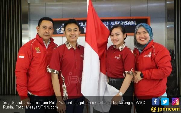 2 Mahasiswa Indonesia Siap Adu Keahlian di WSC Rusia, Optimistis Raih Emas - JPNN.com