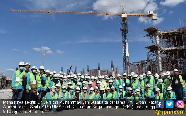 Mahasiswa Teknik UMS Gelar KKL ke PT Brantas Abipraya - JPNN.com