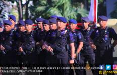 100 Personel Brimob Polda NTT Siap Hadapi KKB di Papua - JPNN.com