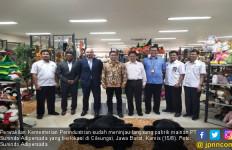 Sunindo Adipersada jadi Pilot Project Program Pendampingan Kementerian Perindustrian - JPNN.com