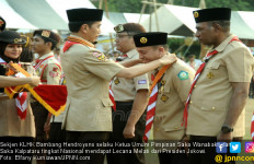 Sekjen KLHK Terima Lencana Melati Pramuka dari Presiden Jokowi - JPNN.com