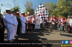 Tim Jelajah Gowes Nusantara Kemenpora Sampai di Kota Surga Diving - JPNN.com