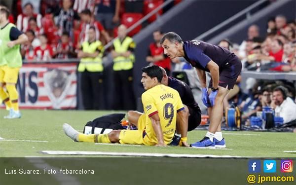 Luis Suarez jadi Korban di Pekan Pertama La Liga - JPNN.com