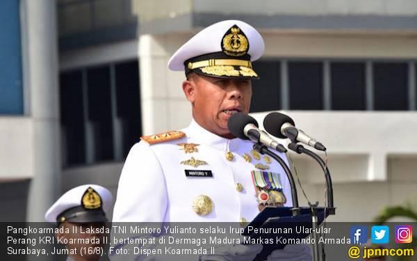 Lima KRI Pengawal Samudra Purna Tugas - JPNN.com