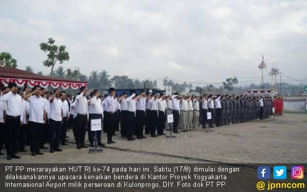 BUMN Hadir Untuk Negeri, PT PP Rayakan Hari Kemerdekaan di Daerah Istimewa Yogyakarta - JPNN.com