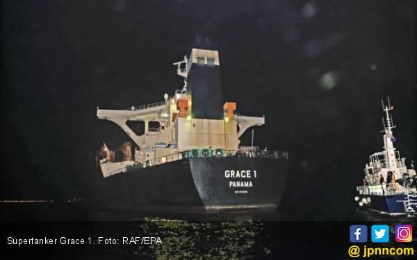 Lepas dari Inggris, Supertanker Iran Diburu Amerika - JPNN.com