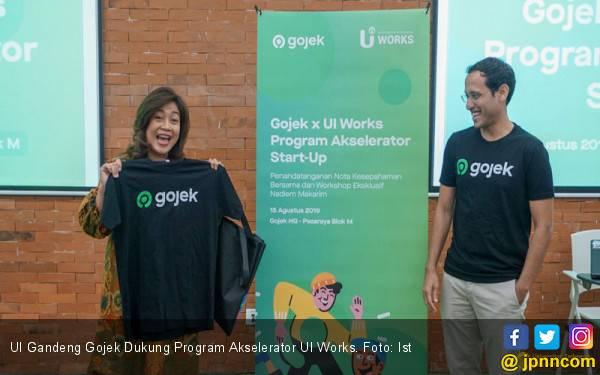 UI Gandeng Gojek Dukung Program Akselerator UI Works - JPNN.com