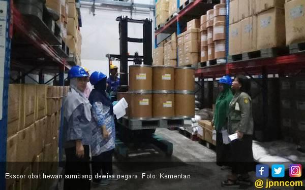 Kementan: Ekspor Obat Hewan Sumbang Devisa Rp 26 Triliun - JPNN.com