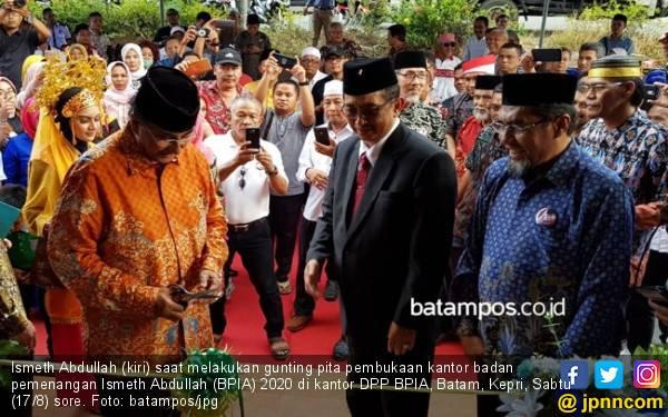 Ismeth Abdullah Nyatakan Siap Maju di Pilgub Kepri 2020 - JPNN.com